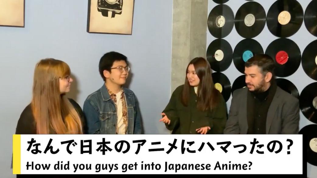なんで日本のアニメにハマったの?