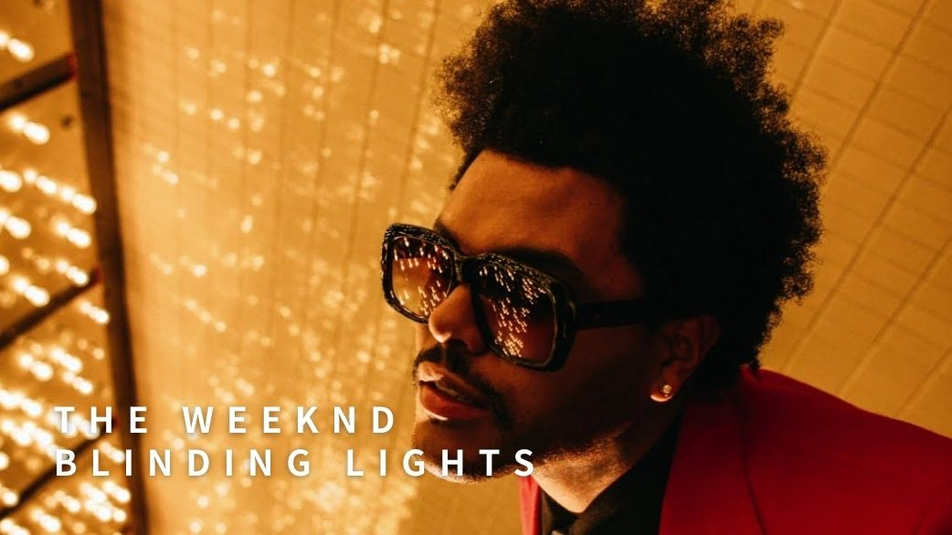 the weeknd, blinding lights